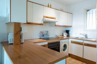 3 <br>de open keuken met wasmachine