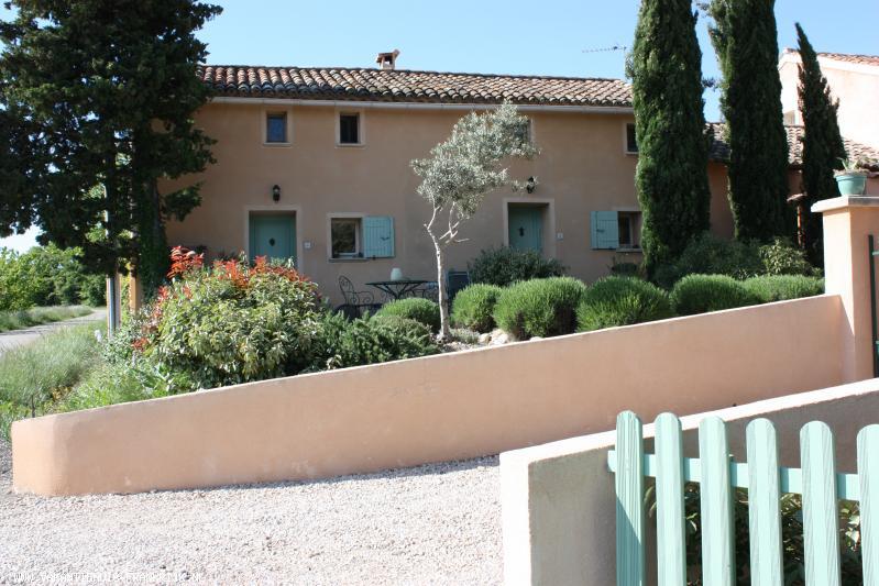 Vakantiehuis: Vuevigne gîte Lavande, voor 4 personen, in de Provence nabij Vaison-la-Romaine en Mont Ventoux. te huur voor uw vakantie in Vaucluse (Frankrijk)
