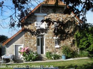 Vakantiehuis: Lief vakantiehuis met grote tuin aan zee te huur in Basse-Normandie, te huur voor uw vakantie in Manche (Frankrijk)