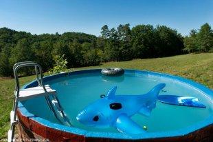 het zwembad (opbouw)
