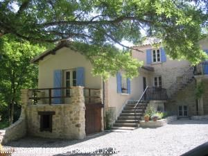 Huis te huur in Alpen de Haute Provence voor een vakantie in Zuid-Frankrijk.