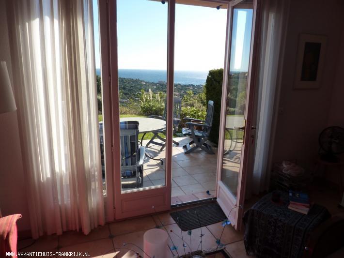 Vakantiehuis: Te huur vakantiewoning aan de Côte d'Azur ( Les Issambres ) met uitzicht op zee. te huur voor uw vakantie in Var (Frankrijk)