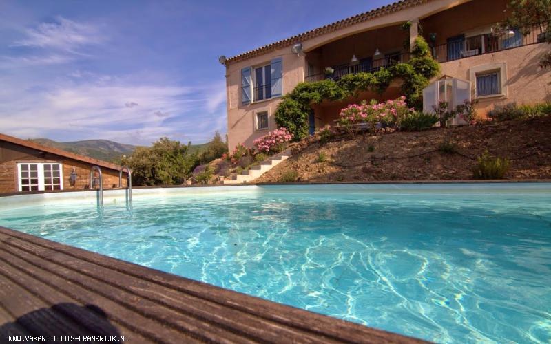 Vakantiehuis: vakantievilla voor 6 pers met zwembad in Languedoc te huur voor uw vakantie in Herault (Frankrijk)