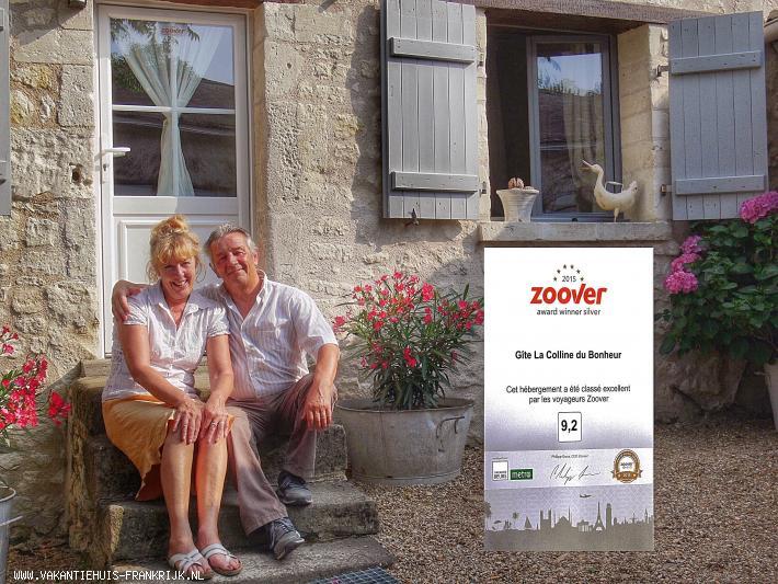 Vakantiehuis: Vrijstaand vakantiehuis op een boerderij in de Loirevallei te huur voor uw vakantie in Indre et Loire (Frankrijk)