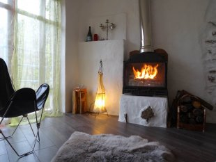 Open haard <br>Om in de winter een aangename vakantiesfeer te maken kan je gebruik maken van de openhaardt