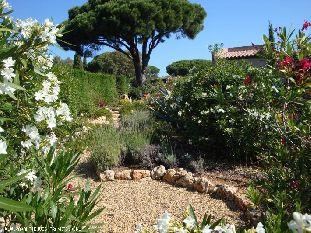 Vakantiehuis Cote d'Azur: gerieflijke vakantiewoning (vue mer) vlakbij St Tropez