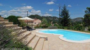 Vakantiewoning Anduze - zwembad