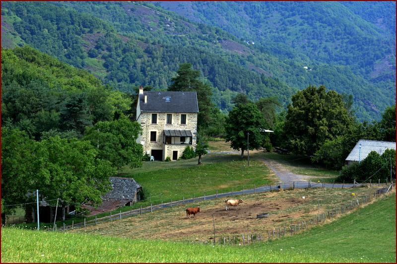 Vakantiehuis: Ruime authentieke vakantiewoning voorzien van modern comfort. Ligt in natuurrijke omgeving, weids uitzicht. te huur voor uw vakantie in Aveyron (Frankrijk)