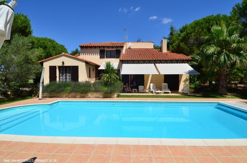 Vakantiehuis: Vakantie als God in Frankrijk www.villa-midi.nl te huur voor uw vakantie in Pyreneeen Orientales (Frankrijk)