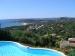 Ons prachtige uitzicht  op de stranden van La Nartelle en de baai van St. Tropez.