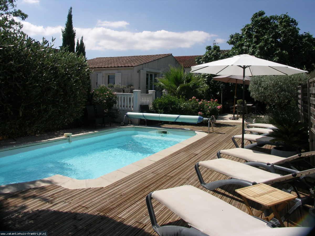 Vakantiehuis: Gezellig 6 persoons vakantievilla met verwarmd privé zwembad te huur voor uw vakantie in Aude (Frankrijk)