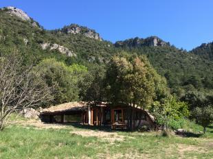 Vakantiehuis: Het Heuvelhuis, op ecologisch landgoed Bergerie la Falaise met zwemvijver en panoramisch uitzicht