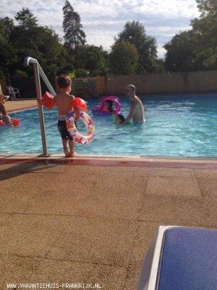 Zwembad in de Camping