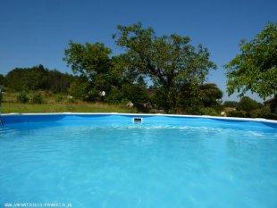 Het zwembad doorsnede 5,5 m