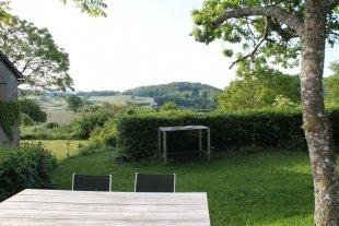 Domaine de Sanglier: uitzicht vanuit de achtertuin