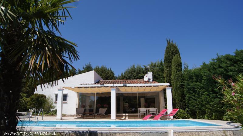 Vakantiehuis: Zuid Frankrijk. Vakantiehuis, bungalow voor 4 personen, met privé zwembad en groot terras. te huur voor uw vakantie in Aude (Frankrijk)