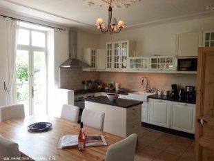 De gezellige en ruime eetkeuken van Viognier