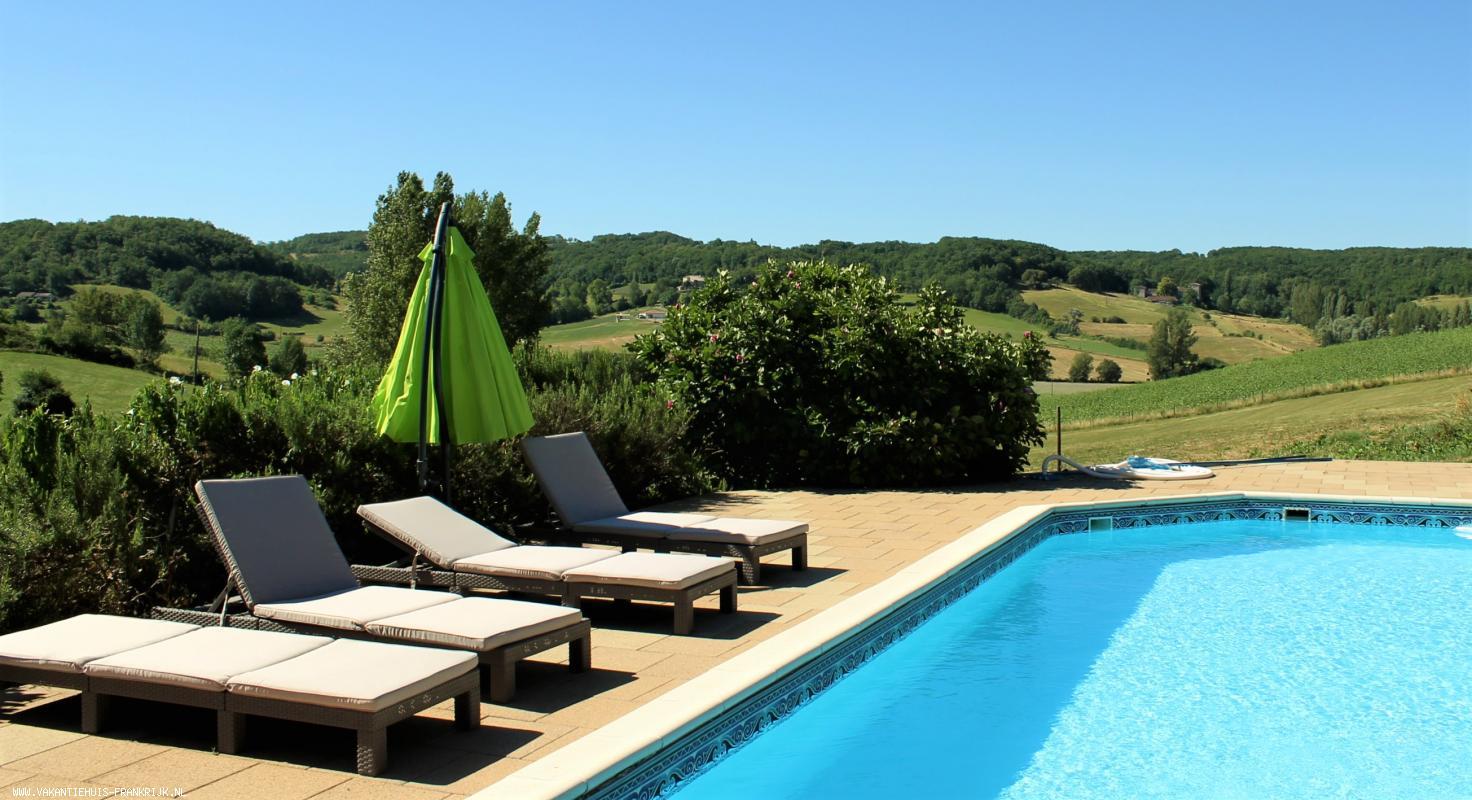 Vakantiehuis: Gezellig, typisch Frans, ruim huisje ingericht voor twee personen (eventueel + baby/kleuter) te huur voor uw vakantie in Lot et Garonne (Frankrijk)