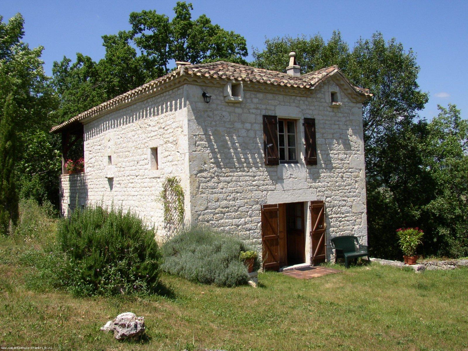 Vakantiehuis: Lot Frankrijk, Montcuq: Te huur comfortabel vakantiehuis te huur voor uw vakantie in Lot (Frankrijk)