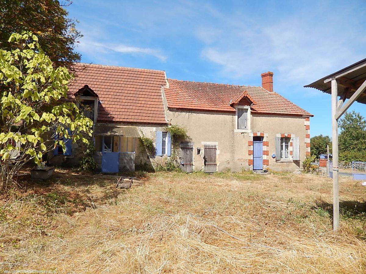 Huizen Verhuur Frankrijk : Frankrijk te koop: in prijs verlaagd !!!! twee huizen en een schuur