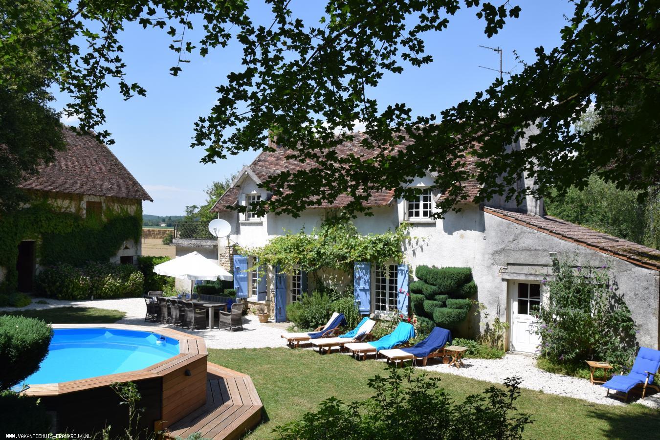 Vakantiehuis: Maison du Pon. Een sfeervol en gezellig vakantiehuis voor het ultieme vakantiegevoel in de Bourgogne. te huur voor uw vakantie in Nievre (Frankrijk)
