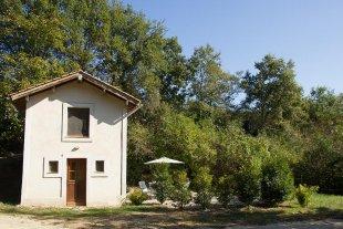 Vakantiehuis: La Maisonnette, ruim vakantiehuis in een oase van rust, midden in de natuur. Veel uitgezette wandel- en fietswegen rondom. Veel bezienswaardigheden. te huur in Aude (Frankrijk)
