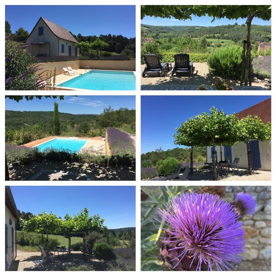 Vakantiehuis: Comfortabel huis met magnifiek uitzicht met veel privacy en privézwembad. te huur voor uw vakantie in Dordogne (Frankrijk)