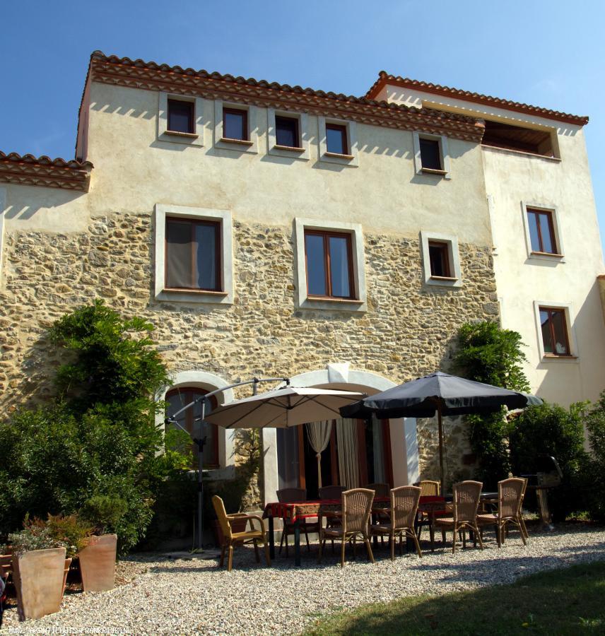 Vakantiehuis: Ruim vakantiehuis in zeer rustige omgeving, met prachtig uitzicht te huur voor uw vakantie in Aude (Frankrijk)