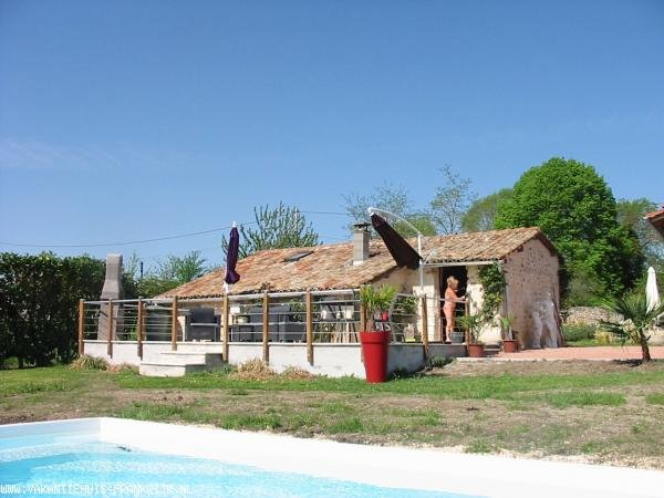 Holiday rental: Gite with pool for 4 persons  in the Charente Maritime for your holidays in Charente Maritime (France)