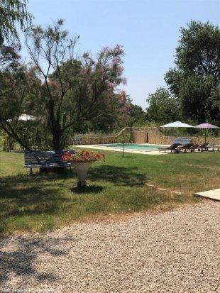 zwembad vanaf terras <br>zwembad