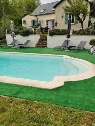 Nieuwe foto zwembad
