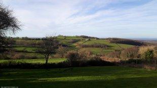 Prachtig uitzicht over de heuvels van de Morvan <br>Prachtig uitzicht over de heuvels van de Morvan