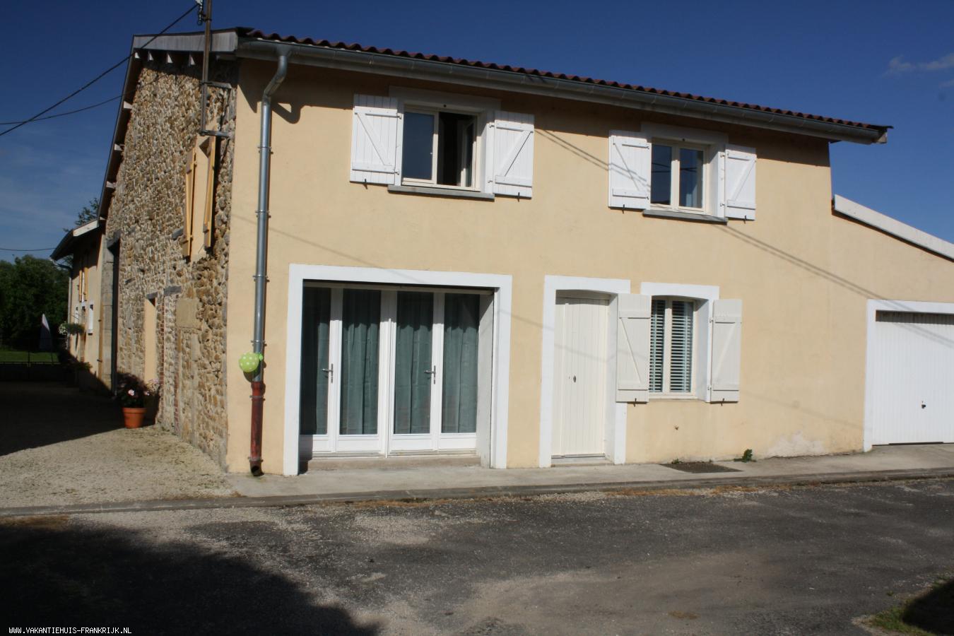 Vakantiehuis: Te huur: mooie studio met ruime bovenverdieping op familieboerderij te huur voor uw vakantie in Meuse (Frankrijk)