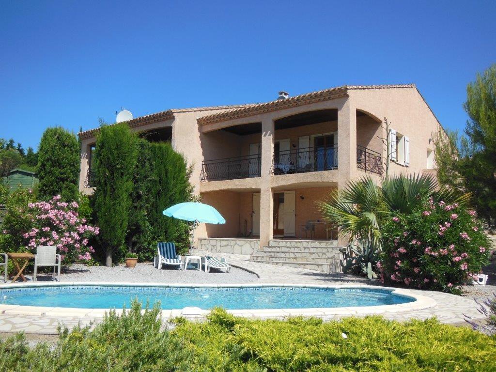Vakantiehuis: Prachtig uitzicht, prive zwembad, villa voor 6 personen, schitterende omgeving te huur voor uw vakantie in Herault (Frankrijk)