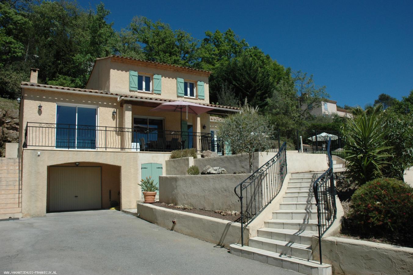 Vakantiehuis: Overwinteren of zomer 2020. Villa in de Provence nabij Côte d'Azur te huur voor uw vakantie in Var (Frankrijk)
