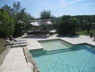 loungehoek zwembad
