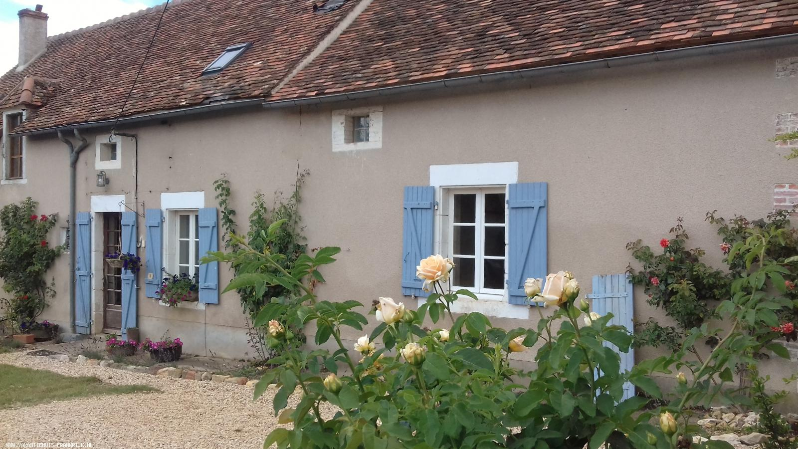 Vakantiehuis: Authentiek vakantiehuis op het Franse platteland te huur voor uw vakantie in Vienne (Frankrijk)
