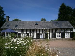 Vakantiehuis: Verdoken in het golvend groen van Normandië, ligt 'La Grange' : Hier ademt alles stilte en rust uit !