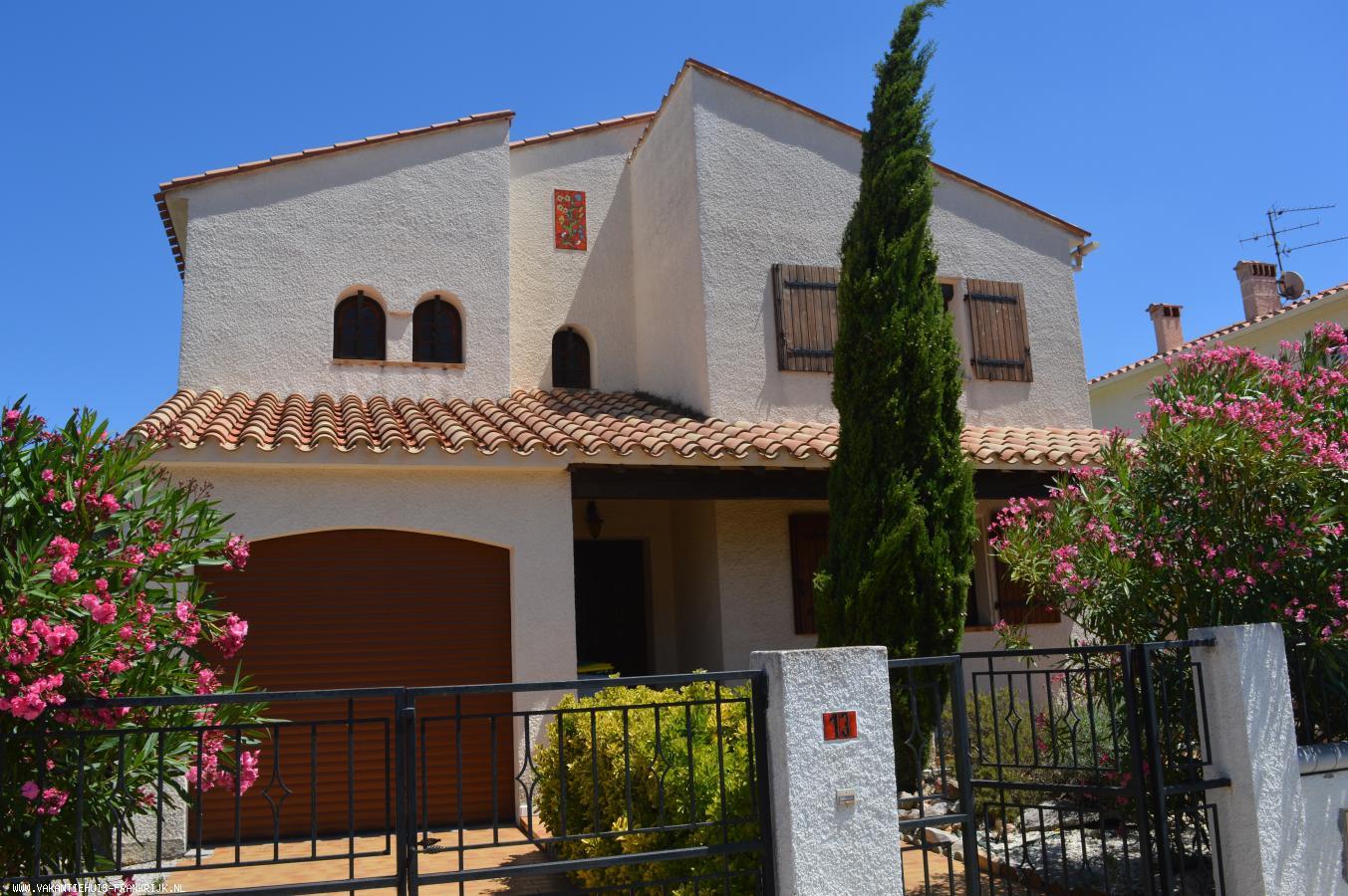 Vakantiehuis: Vakantiehuis met zwembad in Perpignan Zuid-Frankrijk te huur voor uw vakantie in Pyreneeen Orientales (Frankrijk)