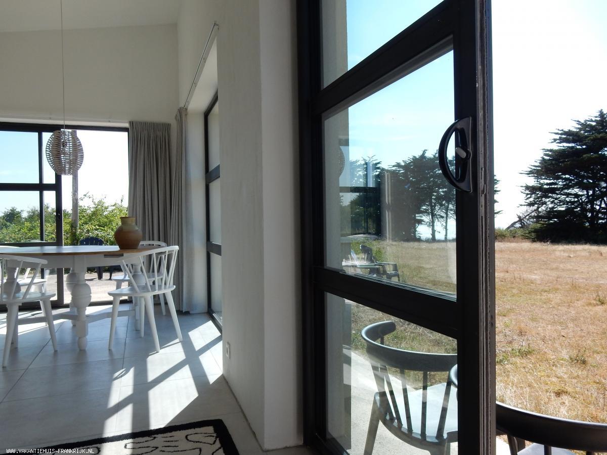 Vakantiehuis: nieuw luxe vakantiehuis in de duinen met zicht op zee en duintuin van 4500 m2 te huur voor uw vakantie in Manche (Frankrijk)