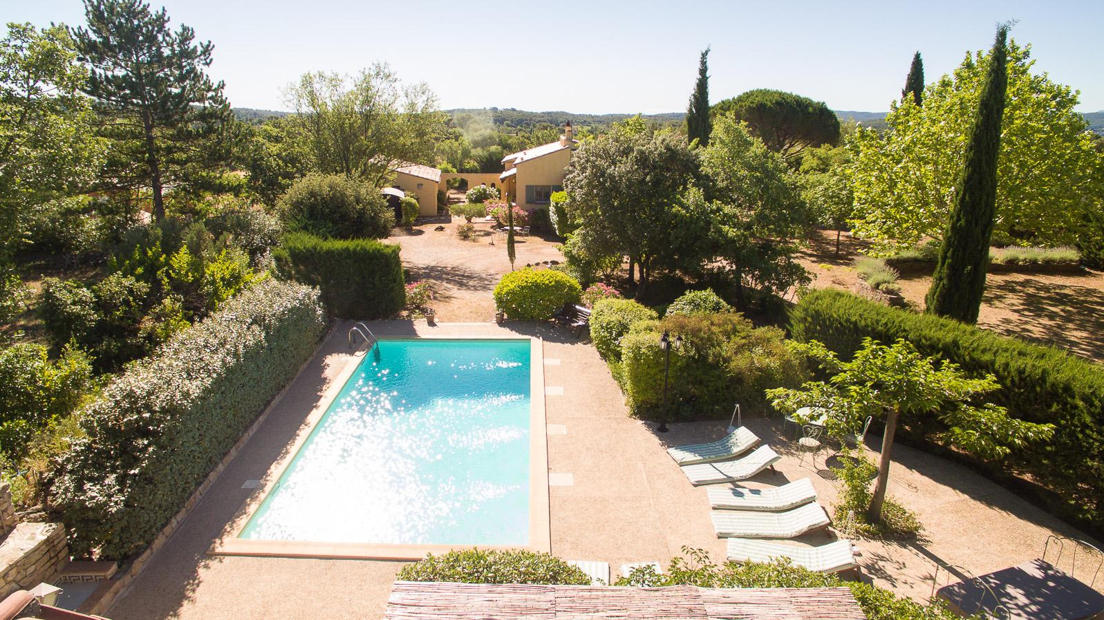 Vakantiehuis: villa confortable pour 8 personnes avec piscine privée sur terrain ombragé , terrasses couvertes. te huur voor uw vakantie in Var (Frankrijk)