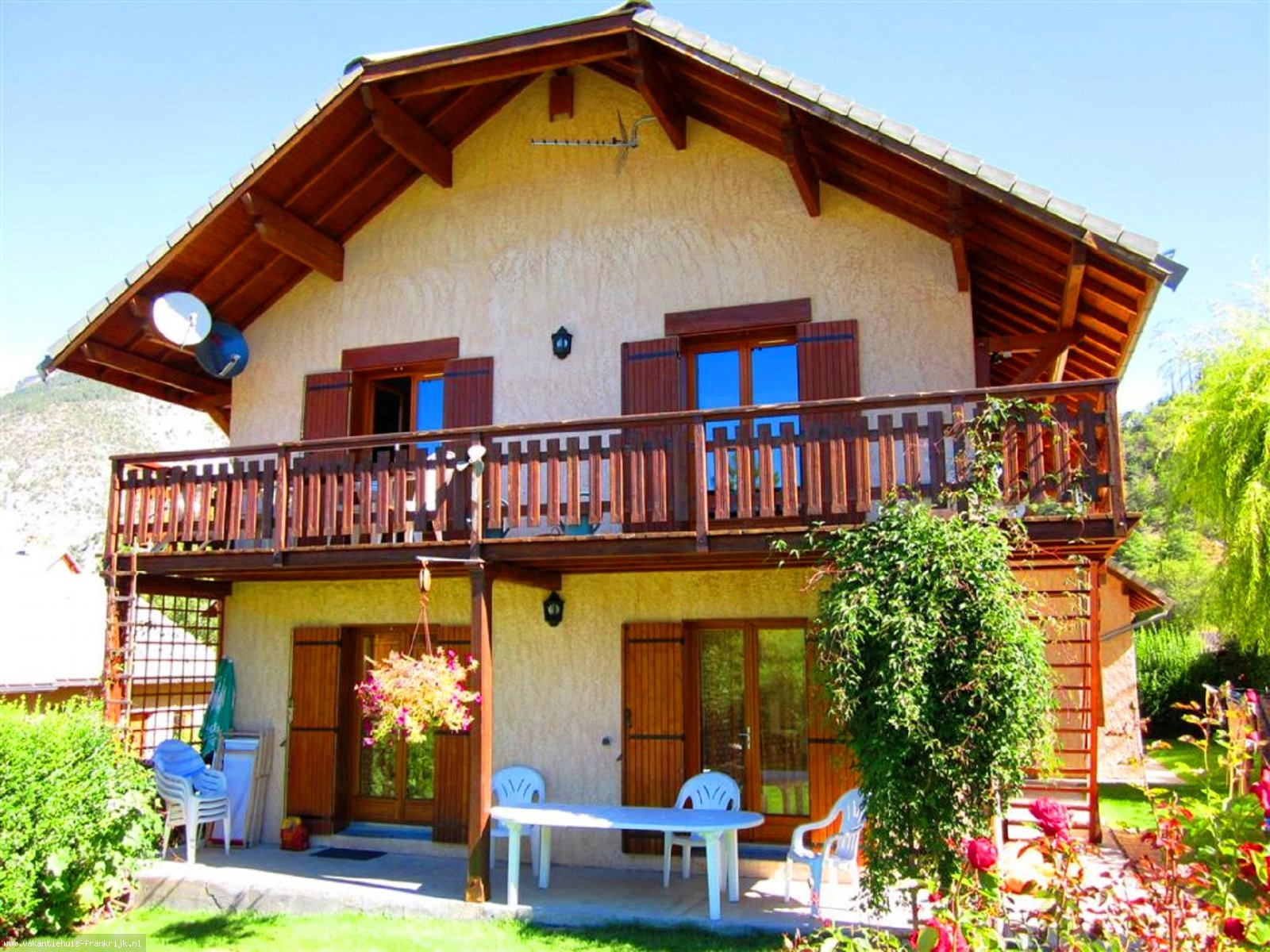 Vakantiehuis: Zon & Rust & Natuur - Provençaalse Zuid Alpen te huur voor uw vakantie in Hautes Alpen (Frankrijk)