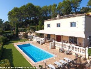 Huis te huur in Var voor een vakantie in Zuid-Frankrijk.