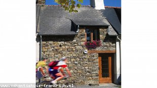 Vakantiehuis: Gite in Brittany. Cosy rural retreat for two. Free wifi.