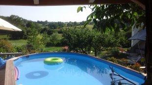 Uitzicht vanuit zwembad