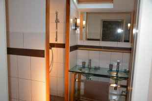 Een douche kamer
