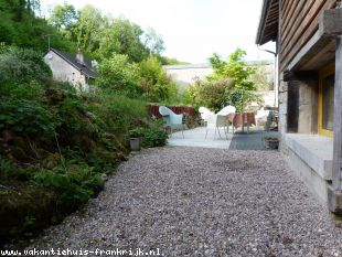 Huis te huur in Ardennes en binnen uw budget van  750 euro voor uw vakantie in Noord-Frankrijk.
