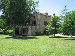Huis te huur in Lot voor een vakantie in Zuid-Frankrijk.