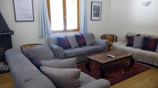 Lounge <br>Comfortable sofas to relax after a day of mountain activity!