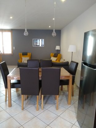 Dining Area <br>relax in the stylish townhouse the perfect holiday home for couples or a family